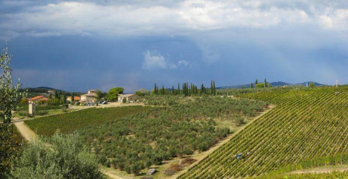 itinerari del Chianti in Toscana