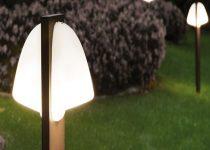 palo illuminazione giardino